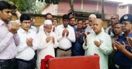 ধামইরহাটে জনস্বাস্থ্য প্রকৌশল দপ্তরের ভিত্তি প্রস্তর উদ্বোধন