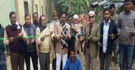 পত্নীতলায় ভাবিচা গ্রাম রাস্তার এসএসবি কাজের উদ্বোধন