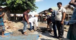 বদলগাছীতে কোলা ইউপির হাট-বাজারের উন্নয়নে খুশি এলাকাবাসী