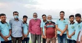 সাপাহার জবই বিলে বিভাগীয় বন কর্মকর্তার সফর