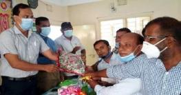 পোরশায় নয়া শিক্ষা অফিসারকে বরণ
