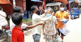 নওগাঁয় করোনা ভাইরাস প্রতিরোধে ৩ হাজার মাস্ক বিতরণ