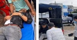 দুর্ঘটনায় আহত ফায়ার সার্ভিস কর্মীকে হাসপাতালে নিলেন এসিল্যান্ড
