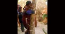রাণীনগরে নারী-পুরুষকে মারপিট করে গাছের সাথে বেঁধে রেখে জায়গা দখল