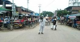 বদলগাছীতে করোনাকালিন স্বাস্থ্যবিধি মেনে চলার প্রচারণায় বিরু