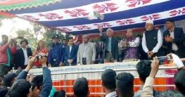 মান্দায় এমপি গোল্ডকাপ ফুটবলে তেঁতুলিয়া ইউনিয়ন চ্যাম্পিয়ন
