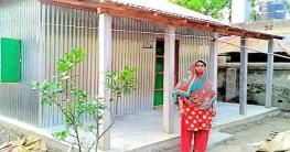 নওগাঁয় আশ্রয়ণ-২ প্রকল্পের ১৭৮টি ঘর পেলো গৃহহীন পরিবার