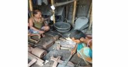 বদলগাছীতে ট্যুং ট্যাং শব্দে মুখরিত কামার পল্লী