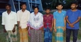ধামইরহাটে মাদক সেবনের দায়ে ৬ জনের জেল ও জরিমানা