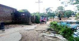 আত্রাইয়ের ভবানীপুর বাজার প্রবেশের রাস্তা যেন মৃত্যুফাঁদ