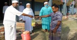ধামইরহাটে মাদ্রাসাতুল হিদায়ার উদ্যোগে খাদ্য সহায়তা প্রদান