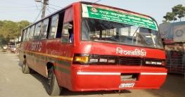 """ধামইরহাট-বগুড়া রুটে """"বিআরটিসি"""" বাস চলাচল শুরু"""