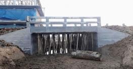 বদলগাছীতে দুটি কালভার্ট নির্মাণে সুবিধা পাচ্ছে জনগন