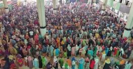 কমলাপুরে টিকিট বিক্রি শুরু, উপচেপড়া ভিড়