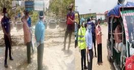 পোরশায় এনজিও প্রতিনিধির ভ্রাম্যমাণ আদালতে জরিমানা
